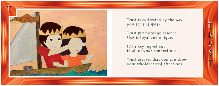 ALPHABET LIVING: T is for TRUST—what does your gut say?