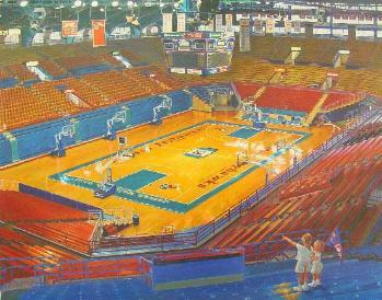 Allen Fieldhouse in Lawrence, KS