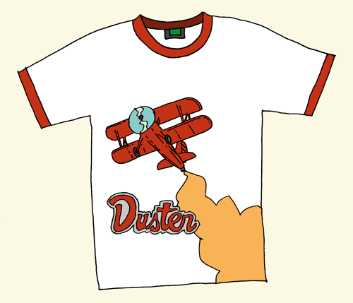 Duster T-Shirt Mockup (Not Final)