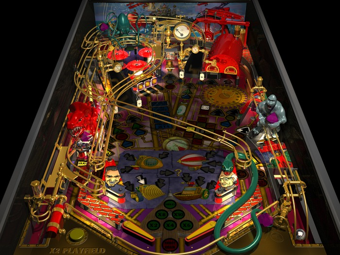 Fantastic Journey Playfield (1999 version)