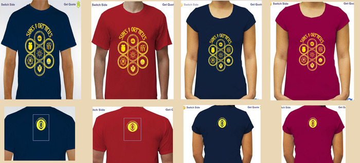 Choose S,M,L,XL - Mens or Ladies - 100% Cotton
