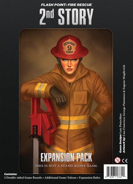 Flash Point Fire Rescue 2nd Story -  Indie Boards and Cards