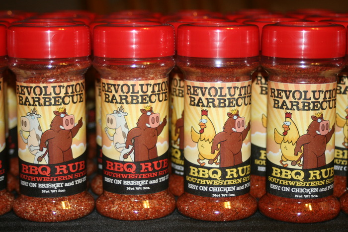 A sample batch of our Signature BBQ and Grilling Spice Rubs