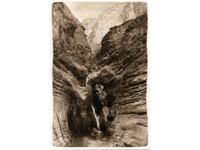 Elves Chasm: Looking In  (photogravure)