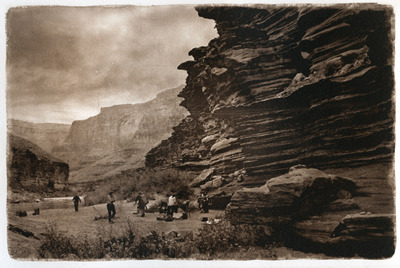 Camp 118.6  (photogravure)