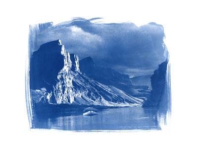 Grand Canyon  (cyanotype)