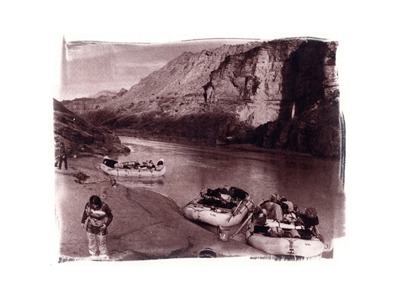 Deer Creek Sarah  (toned cyanotype)