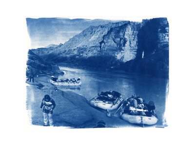 Deer Creek Sarah  (cyanotype)