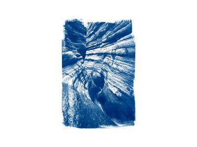 Matkat  (cyanotype)