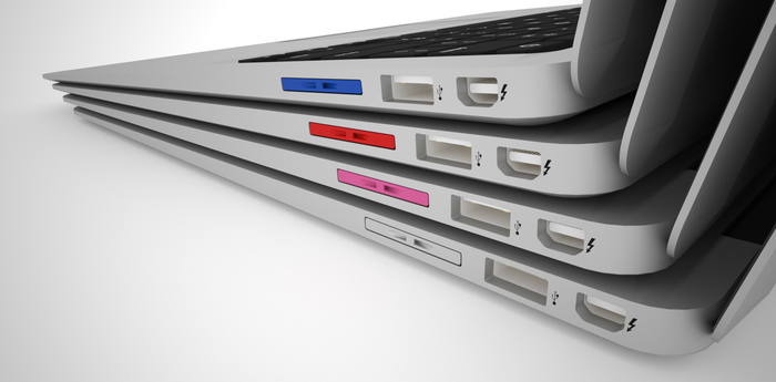 The MiniDrive in the Macbook Air