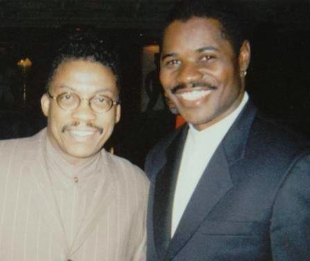 "Herbie Hancock gave me some great advise regarding my Tribute to Nat ""King"" Cole album, after winning a Grammy for Gershwins World at the House of Blues Foundation Room After Party."