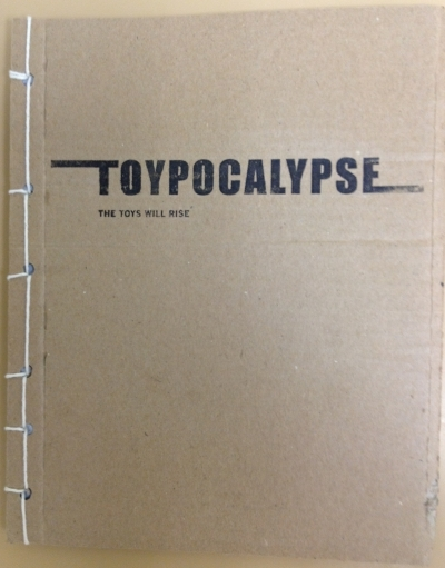 Hand bound copy of Toypocalypse