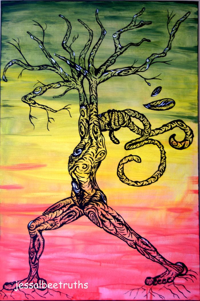 """Peaceful Warrior"" also known as ""Rasta Man Reach Up"" 2011"