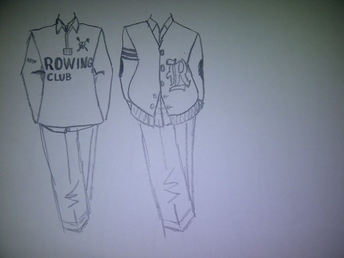 Rowing Collection Sketch