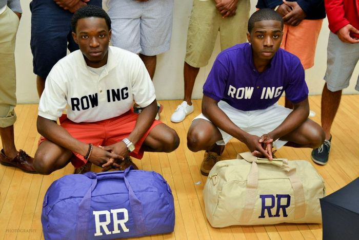 Rowing team polo's