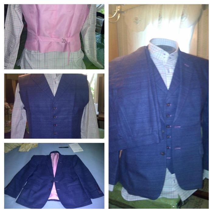Claude Michelle 3pc suit with shirt all tailored