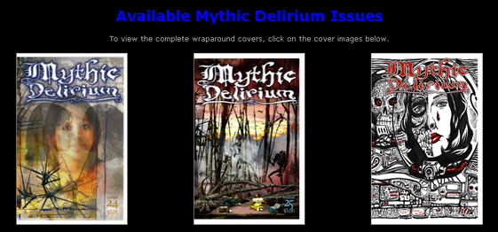 A 1-year or 2-year subscription to MYTHIC DELIRIUM