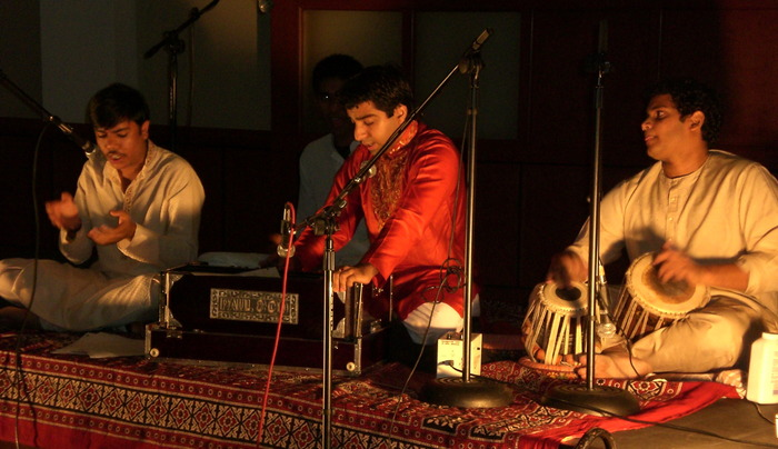 [Riyaaz Qawwali's first performance (11/2006)]