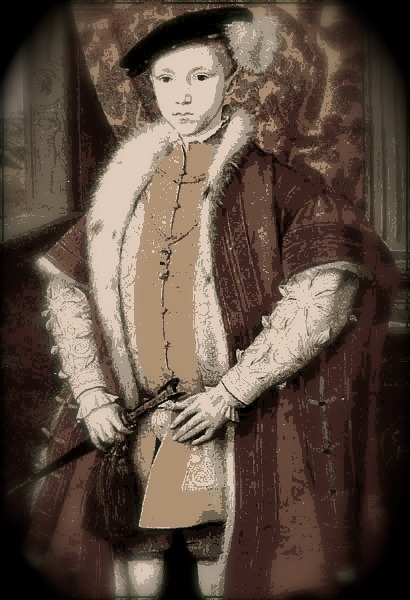 King Edward VI, Child Monarch of England