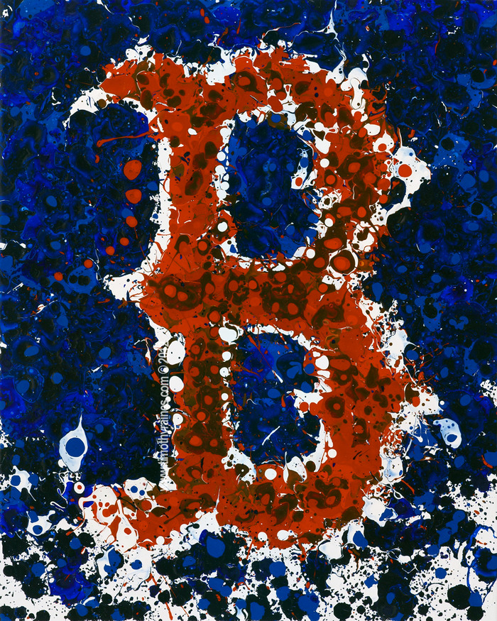 """Boston"" - MLB Officially Licensed Artwork by Timothy Raines"