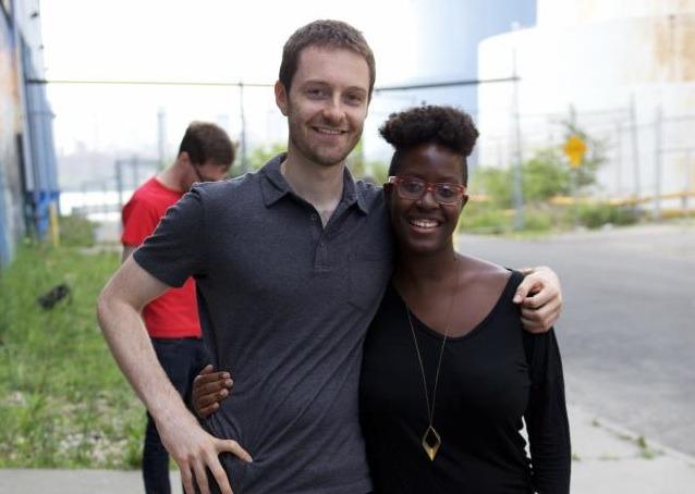 Evan Buxbaum (co-writer/director) and Iyabo Boyd (producer)