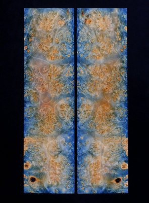 VERY LIMITED!  WOW!  Stabilized Box Elder Burl. -  The Fantasy Maze currently only has one available at $150.00 for medium or $200.00 for hard.