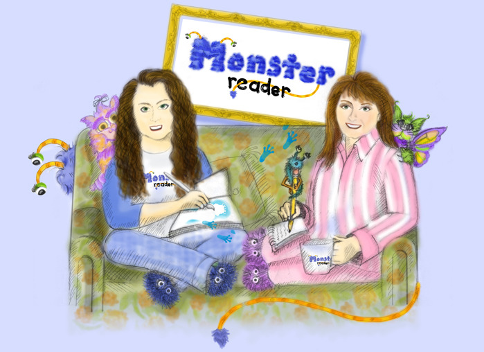 Heather Ozee (illustrator - left) and Christina Cody (author - right)