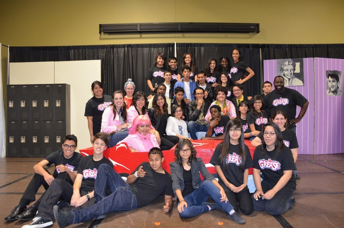 Grease Cast and Crew!