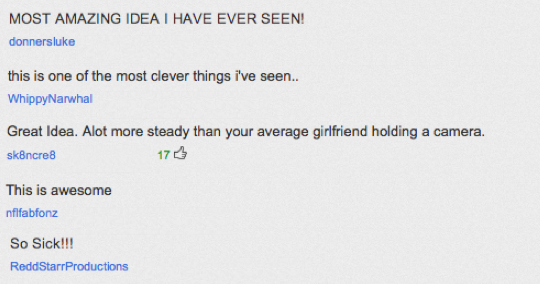 A few of the comments on our YouTube channel, SOLOSHOTvideo