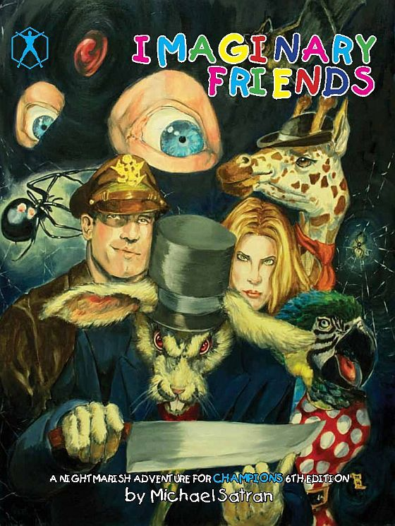 Imaginary Friends Book Cover