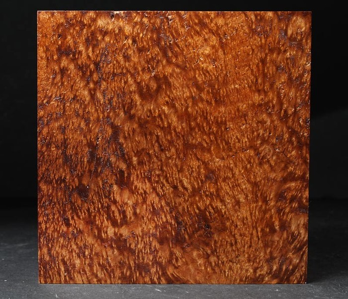 Satinwood Burl is available in a 3 inch maze starting at $110.00.  This is a fantastic wood from the Pacific region.