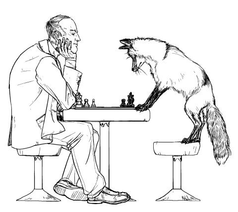 The Fox and the Physicist by Jesse Bullngton