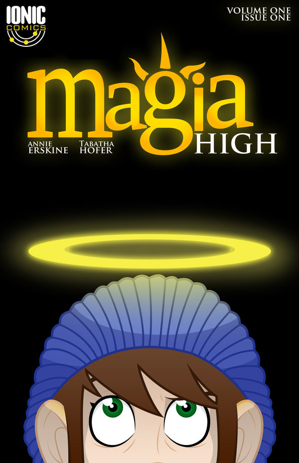 Magia High Issue 1 Cover