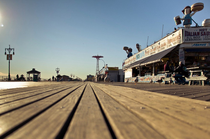 The Coney Island Boardwalk