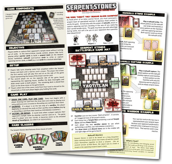 Serpent Stones Rules Preview!
