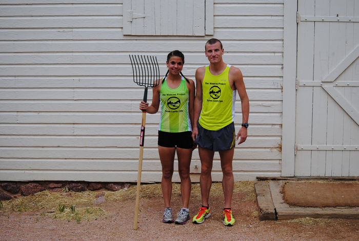 The Mancos Project's athletes ready to work!