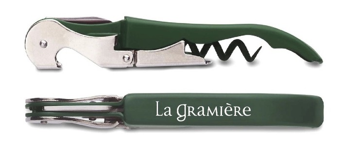 One of our prizes, a La Gramière corkscrew!