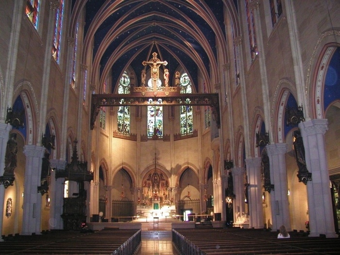The Church of Saint Mary the Virgin, Times Square, NYC