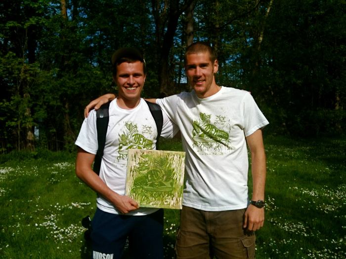 Plus, Kickstarter Backers get custom made T-shirts!!!