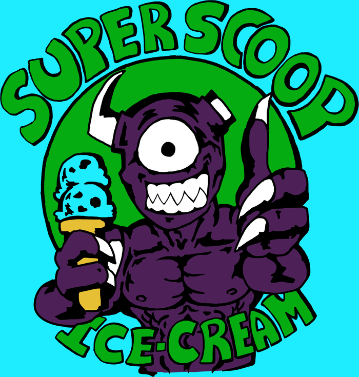 Swamp Demon sells Ice cream