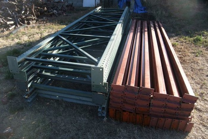 A portion of the steel frame we need to transport.