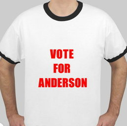 VOTE FOR ANDERSON