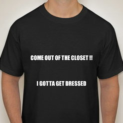 GET OUT OF THE CLOSET TEE