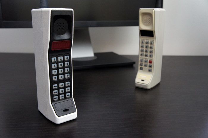 Retro Brick Handset faithfully designed