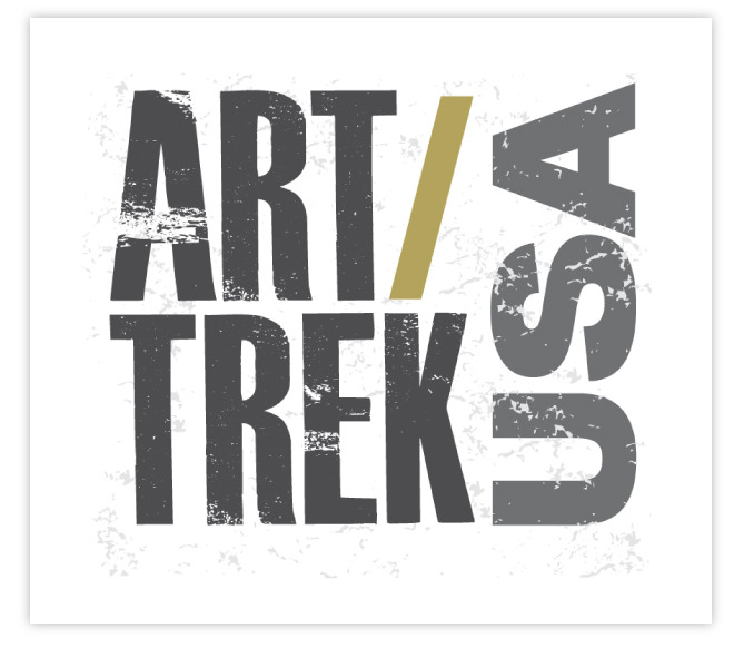 The Art/Trek Sticker