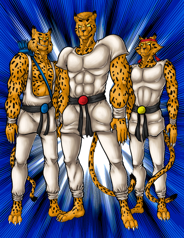 CHEETAHMEN: THE CREATION