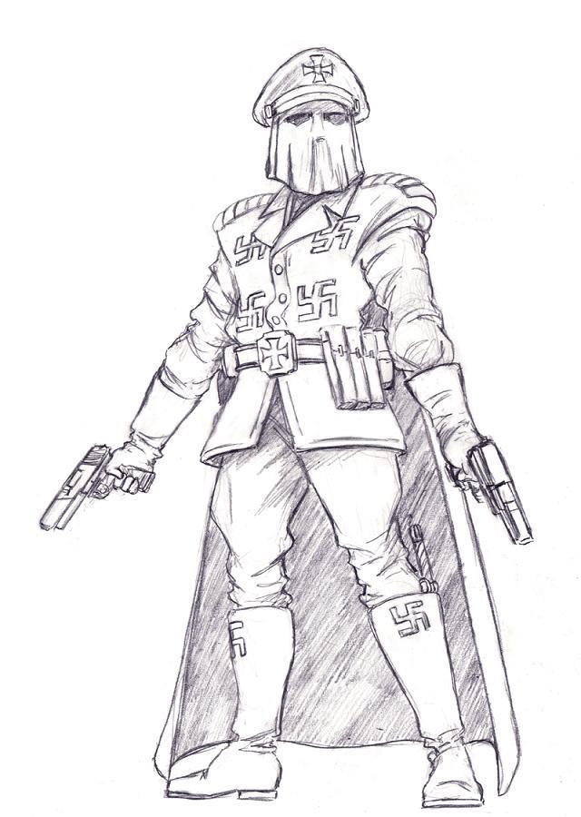Nazi King (Zarrock Zidonius)