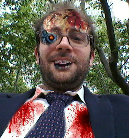 zombie self portrait