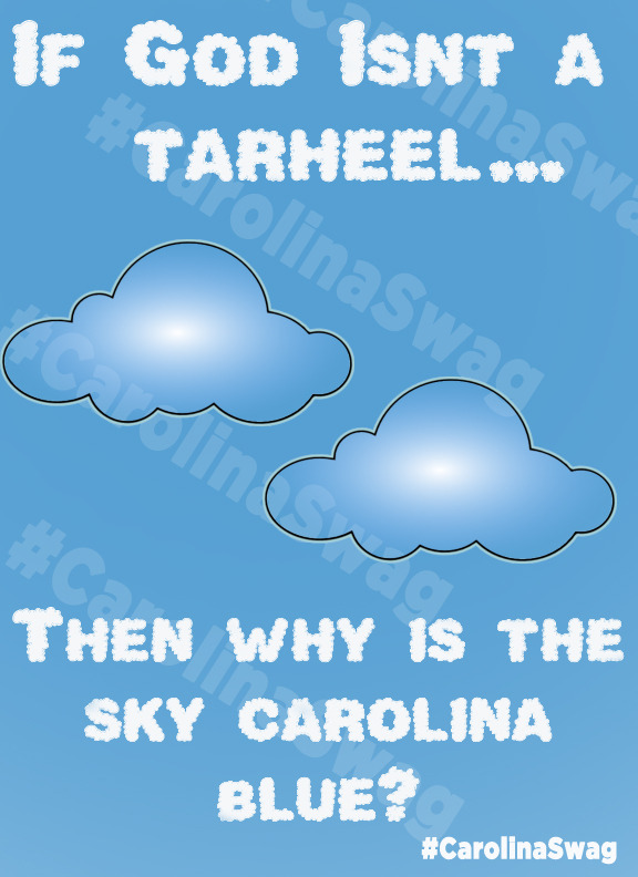"""Carolina Sky"" T-Shirt Design"