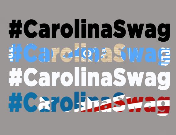 """#CarolinaSwag Logos"" T-Shirt Design"